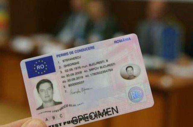 Eliberarea permisului de conducere ar putea fi ceruta prin e-mail