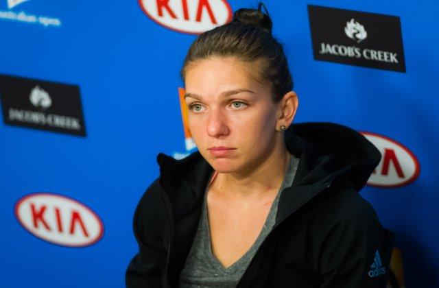 """Simona Halep se retrage de la Miami Open, după o accidentare: """"Sunt supărată că nu pot continua"""""""