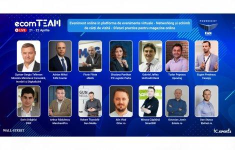 Ultimele zile de înscrieri la ecomTEAM 2021: peste 20 de speakeri...