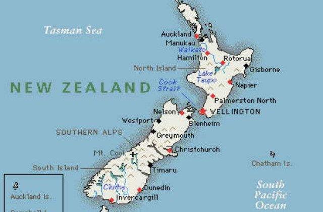 Noua Zeelanda Isi Denumeste Cele Doua Insule Principale