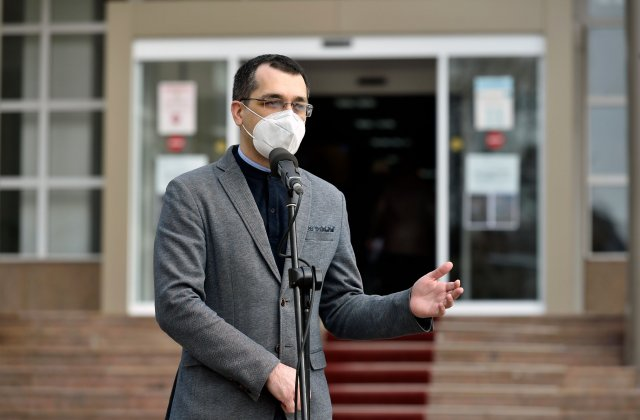 Prima reacție a ministrului Sănătății, Vlad Voiculescu, după tragedia de la Spitalul Victor Babeș
