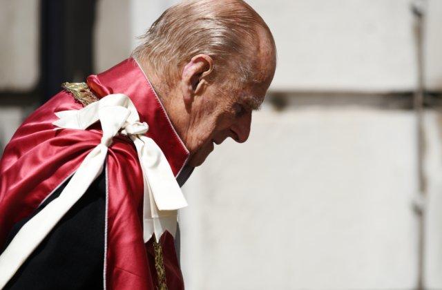 Prinţul Philip va fi înmormântat sâmbătă la Castelul Windsor