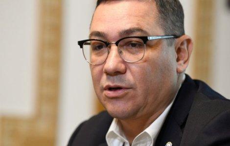 Victor Ponta îl atacă pe Vlad Voiculescu: A creat haos şi a distrus...