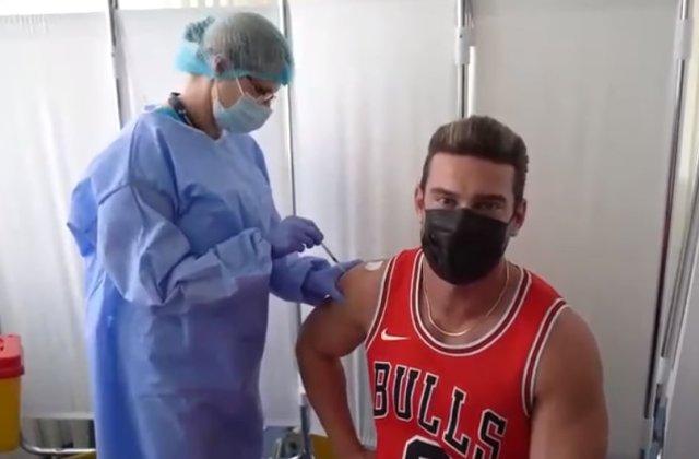 """Dorian Popa s-a vaccinat anti-COVID. """"Cred cu tărie că acest vaccin ne va duce către o normalitate mai rapidă"""""""
