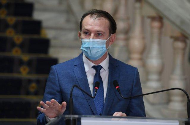 """Cîțu: """"Ne gândim să renunțăm la mască după ținta de 10 milioane de persoane vaccinate"""""""