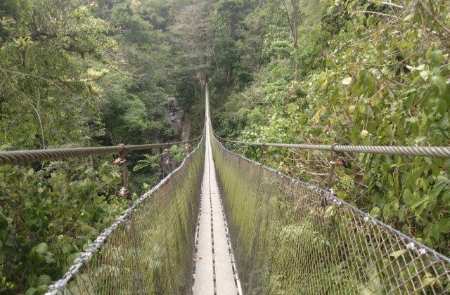 A fost inaugurat cel mai lung pod pietonal suspendat din lume! În ce țară se află acesta