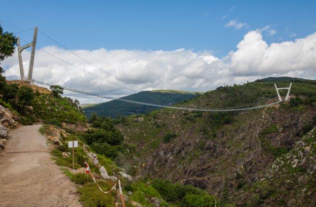 Portugalia: A fost inaugurat cel mai lung pod pietonal