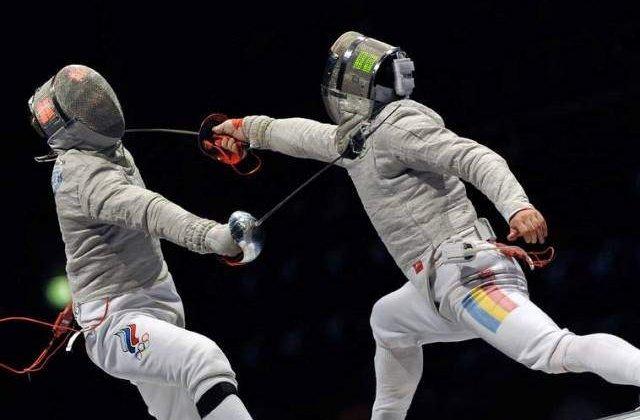 Echipa masculina de sabie a Romaniei, argint la Campionatul Mondial