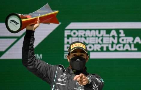 Pilotul de Formula 1, Lewis Hamilton a câștigat Marele Premiu al...