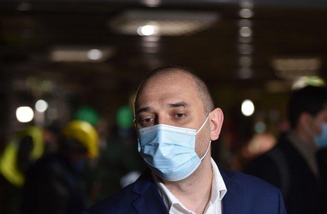 """Radu Mihaiu: """"Pregătim un centru drive-through de vaccinare în Sectorul 2"""""""