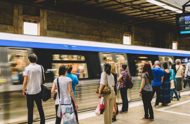 Stația de metrou Pipera, în lucrări până la sfârșitul lunii. Ce schimbări vor fi la traficul pietonal