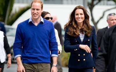 Prințul William și soția sa,...