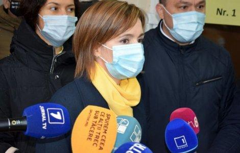 Maia Sandu s-a vaccinat anti-Covid-19. Ce ser a primit liderul de...