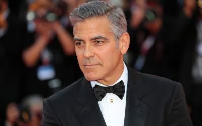 Actorul George Clooney a...