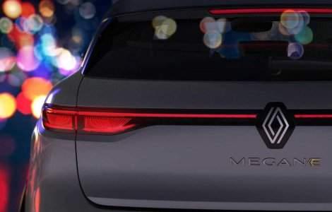 Primele imagini cu viitorul Renault Megane Electric