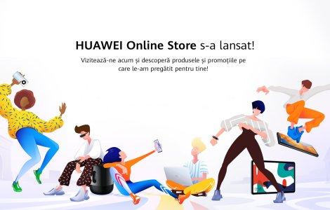Huawei a lansat www.huaweistore.ro: vouchere de 6.000 de lei