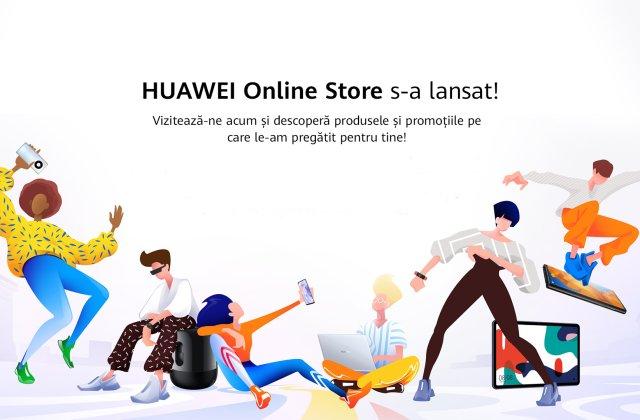 Huawei a lansat www.huaweistore.ro: vouchere de 6.000 de lei, premii și avantaje pentru clienții magazinului online