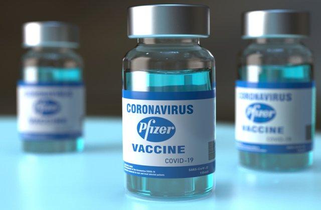 Alte 700.000 de doze de vaccin Pfizer vor ajunge astăzi în România