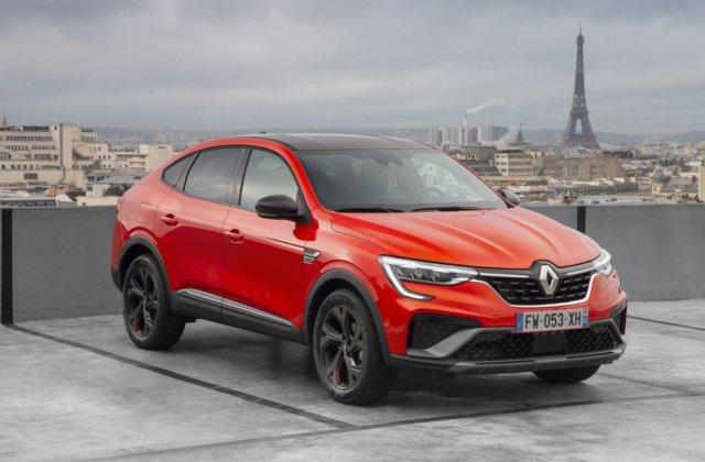Prețuri pentru Renault Arkana în România: start de la 24.100 de euro