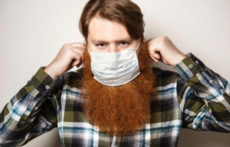 STUDIU: Bărbații cu barbă sunt mai predispuși să se infecteze cu...
