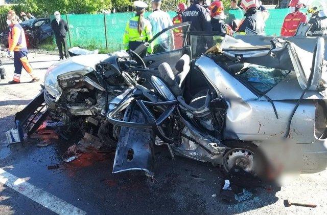 Carnagiu rutier pe DN1, la Nistorești: cinci oameni au murit, doi au fost răniți. Primele informații furnizate de Poliție