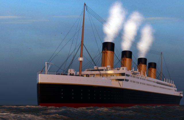 VIDEO Chinezii construiesc o replică în mărime naturală a Titanicului