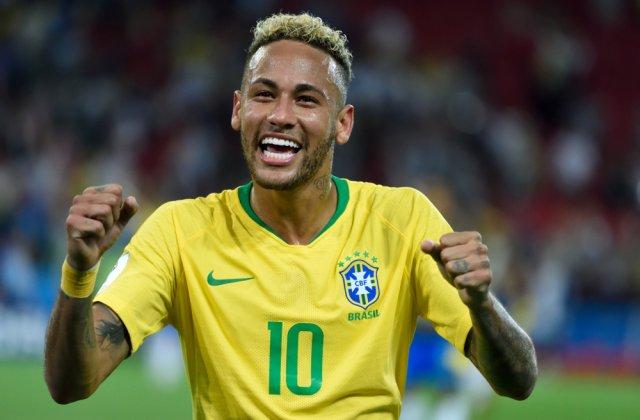 Fotbalistul brazilian Neymar s-a vaccinat anti-COVID-19