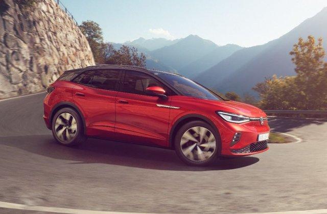Prețuri Volkswagen ID.4 GTX în România: start de la 52.600 de euro pentru SUV-ul sportiv