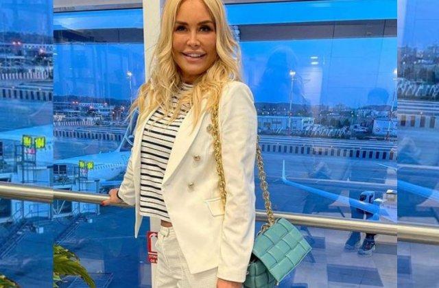 """Vica Blochina, declarații despre relația cu milionarul grec: """"Plecăm împreună în vacanță"""""""