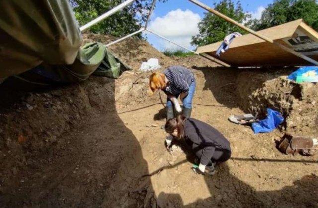 Descoperire istorică în România. Au fost găsite resturile funerare ale unui cavaler medieval de rang înalt