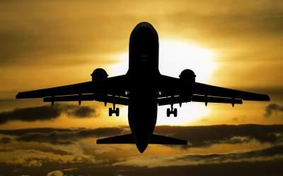O aeronava Ryanair a fost...