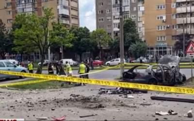 Asasinat cu bombă la Arad....