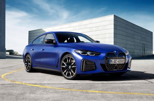 BMW a publicat toate detaliile despre electricul i4: versiune M50 cu 544 de cai putere