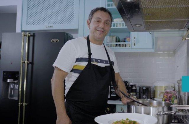"""Chef Sorin Bontea, filmat într-o ipostază neașteptată. """"Vremea asta mă inspiră!"""""""