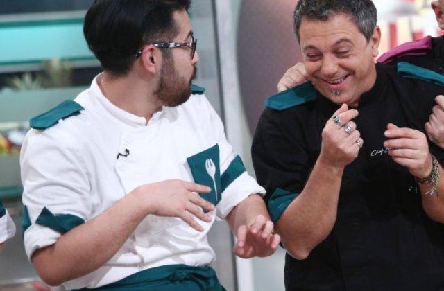 FOTO Riki de la Chefi la cuțite e cel mai mare fan al lui Sorin Bontea. Și l-a tatuat pe braț pentru a-i aminti de perioada trăită la Antena 1