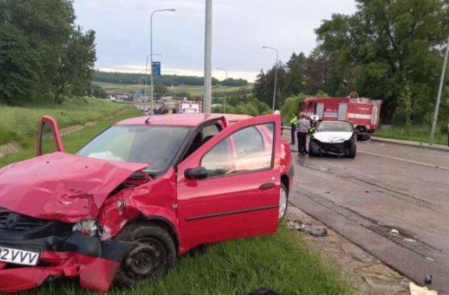 VIDEO ACCIDENT GRAV cu 7 victime la ieșirea din Botoșani. Cinci mașini au fost implicate