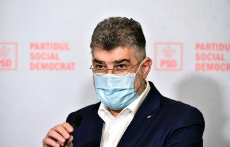 Marcel Ciolacu anunță propunerea de premier a PSD