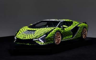 Cea mai nouă machetă Lego...