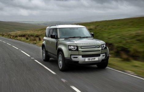 Jaguar Land Rover va începe testele cu un Defender alimentat cu...