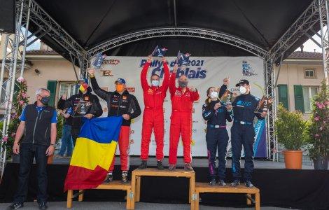Început cu podium în Tour European Rally pentru Alex Filip și Gabi...