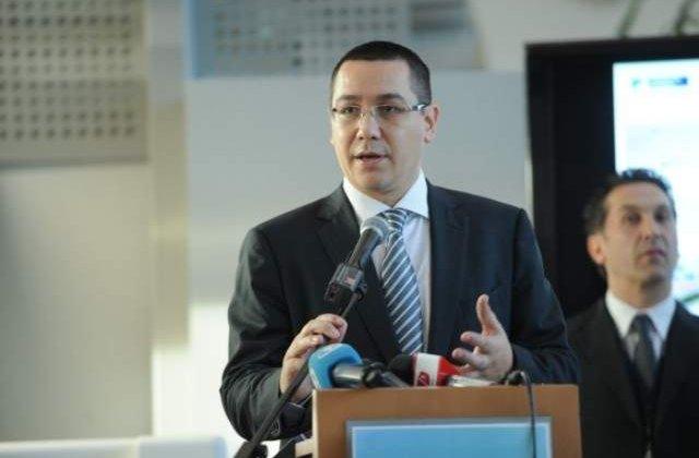 Ponta: Nu trebuie sa lasam de inteles ca suntem impotriva tuturor investitiilor straine