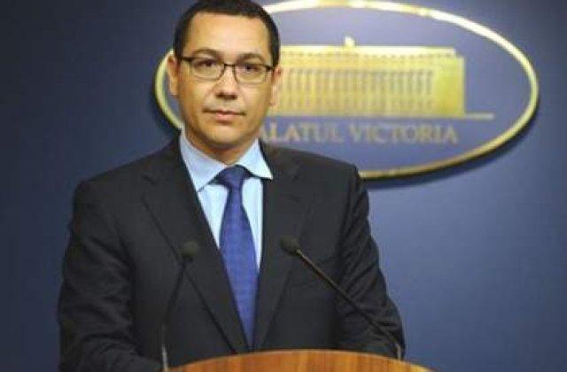 Ponta: Vreau sa pastrez USL unita, nu ii raspund in public lui Antonescu