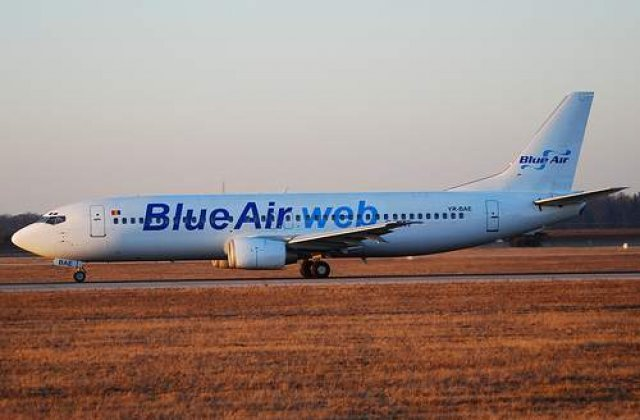 Blue Air prinde aripi