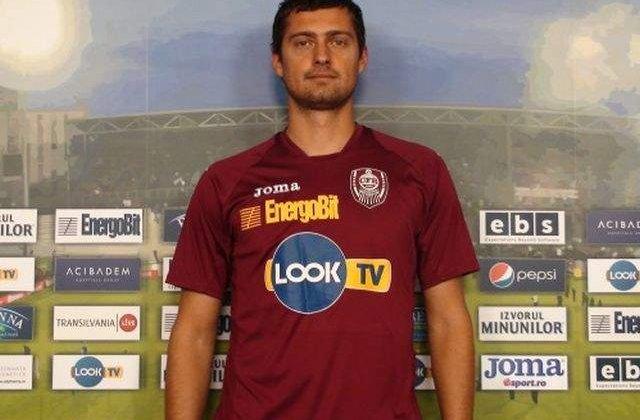 Gabi Tamas, dat afara de la CFR Cluj. Muresan: A venit, a baut, a plecat