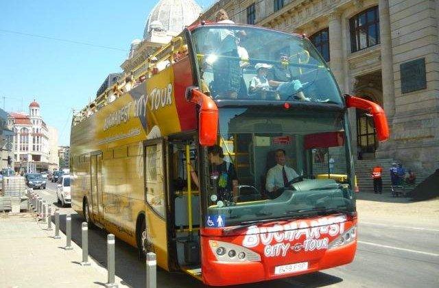 "Linia turistica ""Bucharest City Tour"" va fi suspendata incepand de vineri"