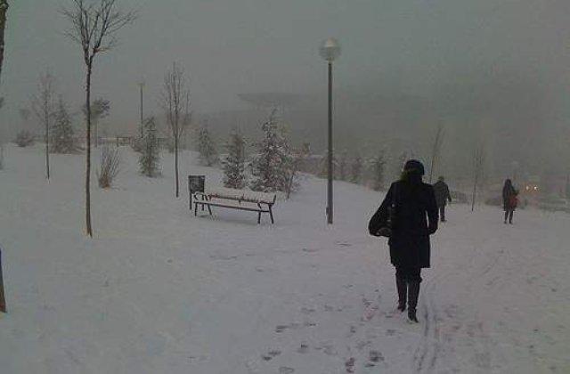 Cod galben de ninsoare in Spania