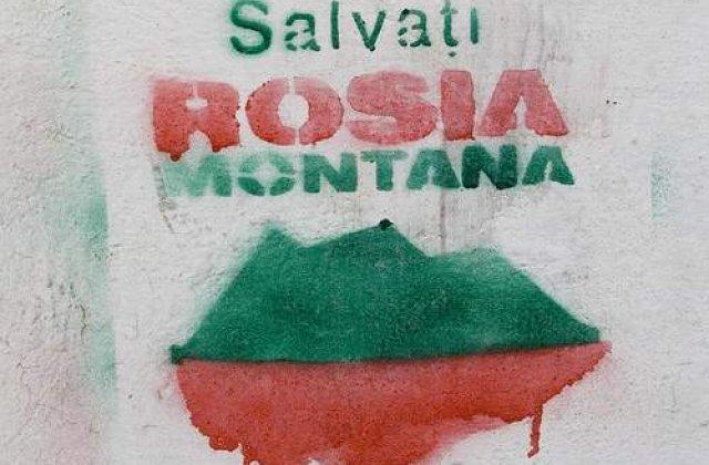 ONG-urile sar in ajutorul proiectului de exploatare Rosiei Montane in PE