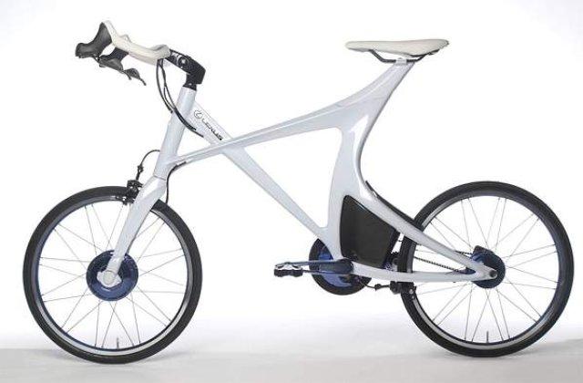 Bicicleta viitorului, in varianta hibrid
