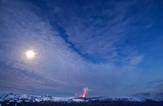 Antreprenor islandez, vand cenusa vulcanului Eyjafjallajokul!