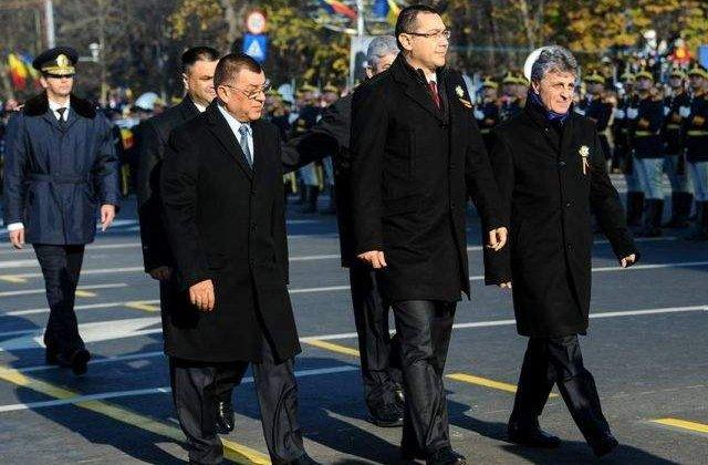 Dusa, felicitat de Ponta pentru organizarea paradei militare din Bucuresti